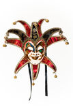 Masquerade Joker mask Stock Image