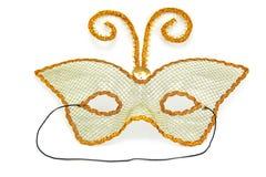 Masquerade mask. Isolated on a white background Stock Photo