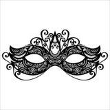 Masquerade Mask. Beautiful Masquerade Mask (Vector), Patterned design Royalty Free Stock Images