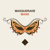 Masquerade mask. Royalty Free Stock Image