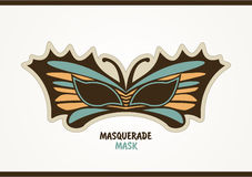Masquerade Mask. Royalty Free Stock Photos