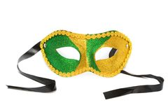 Masquerade mask isolated Royalty Free Stock Photography