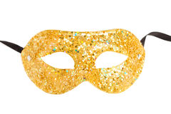Masquerade mask isolated Royalty Free Stock Photos