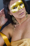 Masquerade Model Stock Image