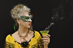 Masquerade is over Royalty Free Stock Photography