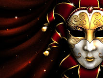 Masquerade party background royalty free illustration