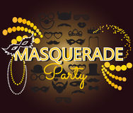 Masquerade party Stock Photos