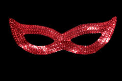 Masquerade red mask Stock Photography