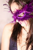 Masquerade woman Stock Images