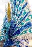 Masquerader de carnaval de costume image stock