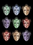 Masques Royalty Free Stock Photography