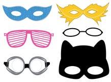 Masques Photo libre de droits
