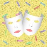Masques illustration libre de droits