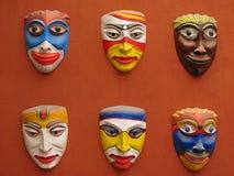 Masques asiatiques Photographie stock libre de droits