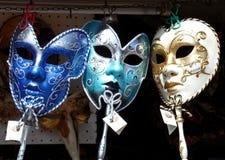 Masques au loyer Image stock