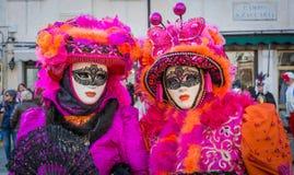 Masques de carnaval à Venise Le carnaval de Venise est un festival annuel tenu à Venise, Italie Le festival est mot célèbre pour  photo stock