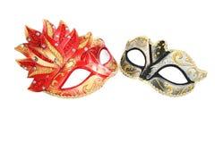 Masques de carnaval Image libre de droits