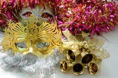 Masques de carnaval Photos libres de droits