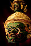 Masques de Khon Photo libre de droits