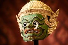 Masques de Khon Image libre de droits