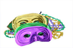 Masques de mardi gras photographie stock libre de droits