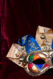 Masques de mardi gras Photos stock