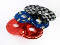 Masques de réception Photo stock