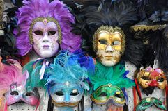 Masques de Venise   Images stock