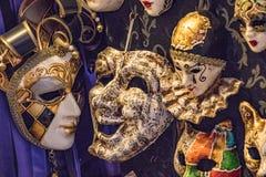 Masques de Venise Photographie stock libre de droits