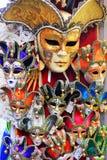 Masques de Venise de carnaval - Italie photos libres de droits