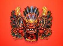 Masques indonésiens Photos libres de droits