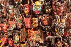 Masques mexicains Image libre de droits