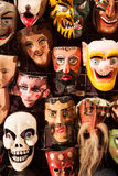 Masques mexicains Photographie stock