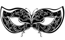 Masques pour une mascarade illustration stock