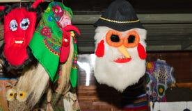 Masques traditionnels roumains photo libre de droits