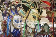 Masques vénitiens Photographie stock