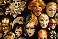 Masques vénitiens  Venezia images libres de droits