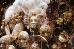 Masques vénitiens Photos stock