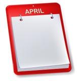 Masquez le calendrier Photos libres de droits