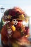 Masquez le carnaval de verticale de Venise Italie Images stock