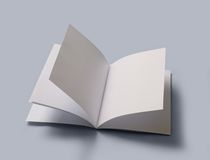 Masquez le livre ouvert Photographie stock