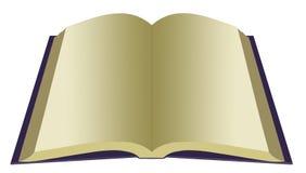 Masquez le livre ouvert illustration stock