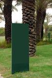 Masquez le signe vert Photos libres de droits