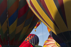 Mass Ascension at the Great Reno Balloon Race Royalty Free Stock Photo