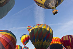 Mass Ascension at the Great Reno Balloon Race Stock Photography