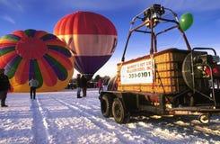 Mass balloon launch royalty free stock image
