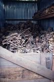 Mass Cremation in Thailand Stock Photo