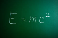 Mass-energy equivalence formula Royalty Free Stock Photography