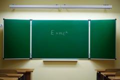 Mass-energy equivalence formula Royalty Free Stock Images