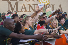 Mass farewell for Boks Royalty Free Stock Images